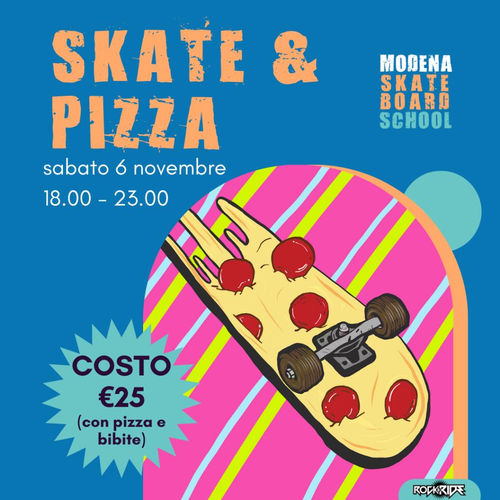 Skate & Pizza